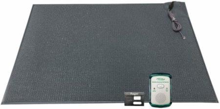 Fall monitor floor mat alarm