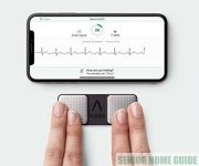 Use fingers to take KardiaMobile ECG