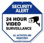 Install a security sign, whether or not you have a security system.