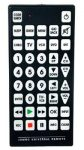 The jumbo QFX TV Remote is the best multi-device remote control for low vision users.