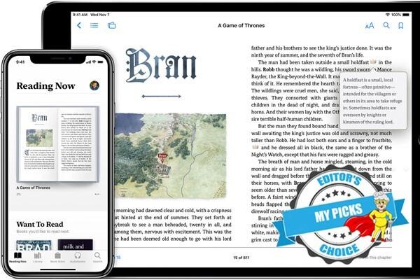 Best book reader for seniors needing large print