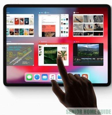 The 12.9 inch iPad is ... huge.