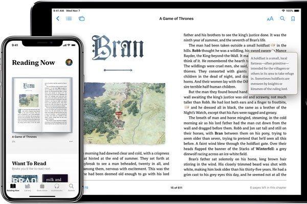 "iPad 12.9 inch ""reading now"""