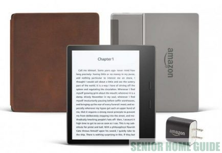 The Oasis bundle includes the Oasis reader, a charger and a case.