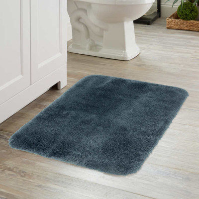 Bathroom rugs are a common cause of falls.