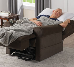 Sleep in the chair after surgery