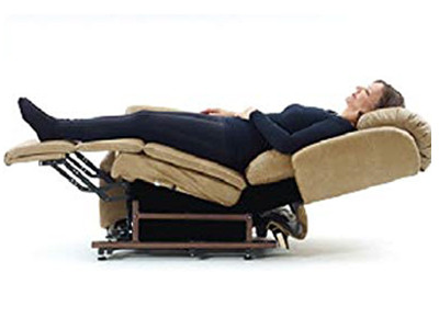 Lying in the Sleep Position in a Stellar Lift Chair Recliner