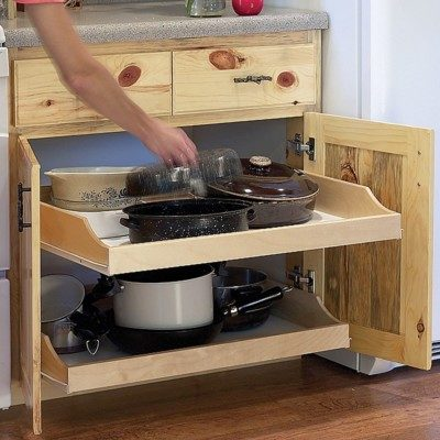 Rockler Birch Pullout Shelves