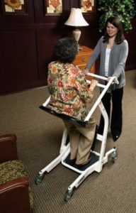 Use a Patient Transport instead of a Hoyer Lift or Wheelchair.