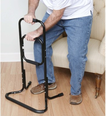 Standing one handle assistance device