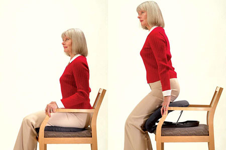 A Seat Assist is a portable device that lowers you onto and off of your seat.