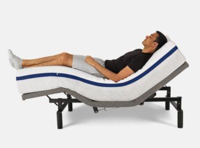 "HelixSleep bed ""zero gravity"" position"