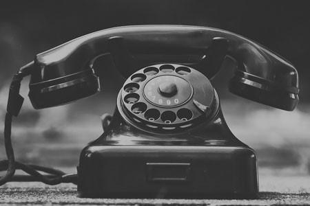 Senior phone check in service