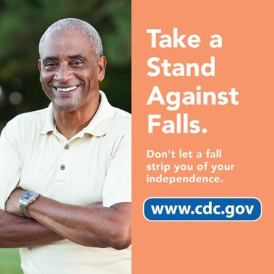 Take a stand against falls: #steadi