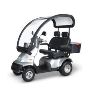The Afiscooter All-Terrain is also a Heavy-Duty/Bariatric Scooter.