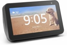 The Echo Show will be a video monitor at your mom or dad's house, but they can also use it to watch Netflix, ask for the weather, and listen to music