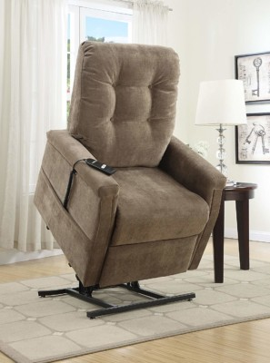 The chair lifts you up and also helps you bend less to sit down