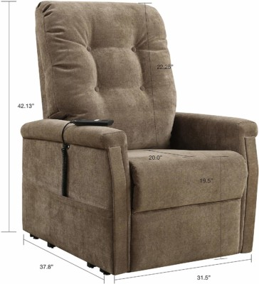 Lift chairs take up the same room as recliners