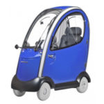 Shoprider Flagship blue mobility scooter