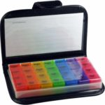 Use a pill organizer as part of your automated Alexa medication reminder plan