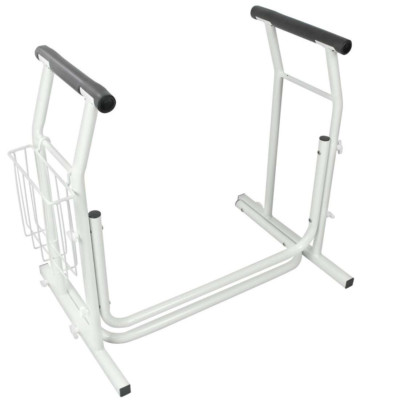 The frame is sturdy, for users up to 300 lb.