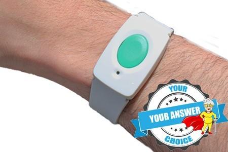 The home wrist button
