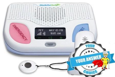MobileHelp Home Away Duo Medical Alert