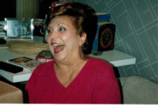 Mom laughing