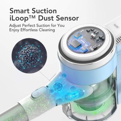 Tineco S12 M Lite dirt sensor adjusts vacuum power