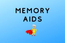 Recommended memory aids