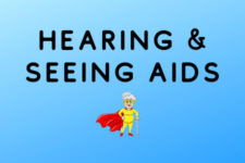 Recommended hearing and seeing aids