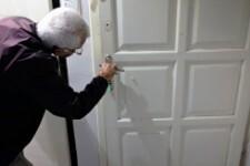 Locking the door