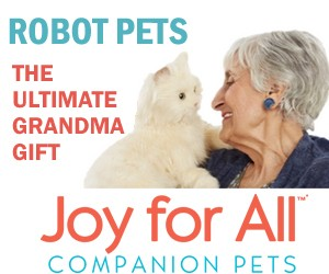 Joy for All robot companion pets for seniors