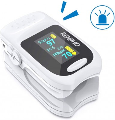 The RENPHO pulse oximeter for forgetful users