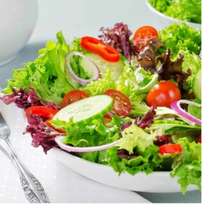 The greens in this salad come from the Salad Lovers Kit