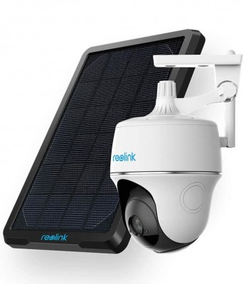 Reolink Argus PT camera with solar panel