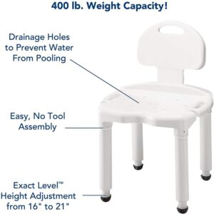 CAREX UNIVERSAL BATH SEAT WITH BACK4