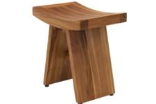Gorgeous AquaTeak Shower Chair for Seniors