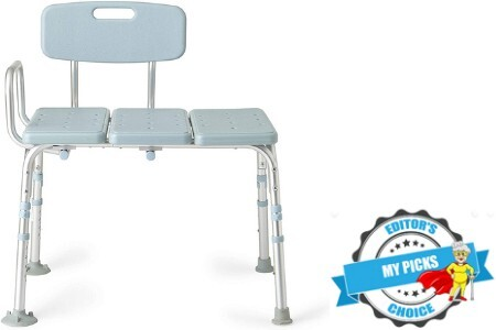 Best shower chair or bench for seniors
