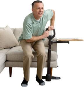 couch cane man