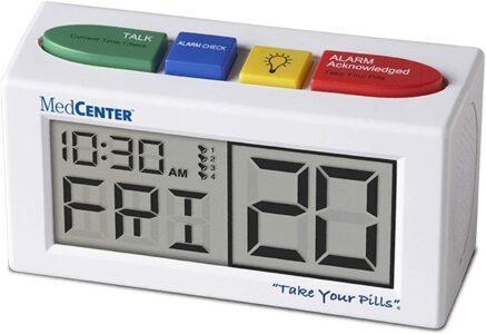 medcenter pill reminder talking alarm