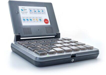 MedMinder integrated computer screen