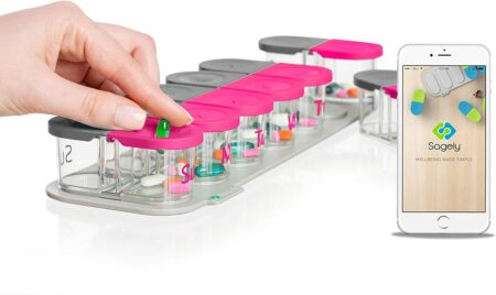 sagely smart xl pill organizer
