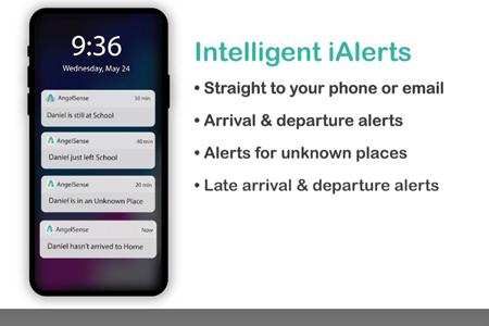AngelSense Intelligent Alerts